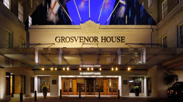 Buitenaanzicht Grosvenor House A JW Marriott Hotel
