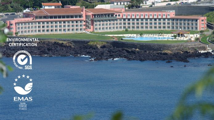 Exterior view Hotel Terceira Mar