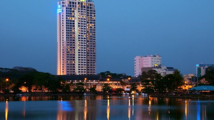 Exterior view Hilton Colombo Residences