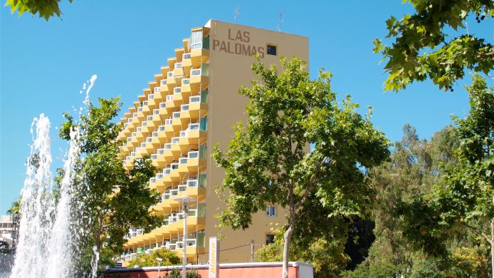 Exterior view Econotels Las Palomas Apartments