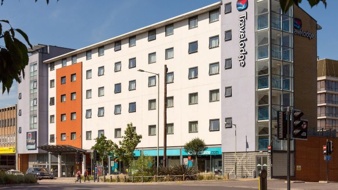 Buitenaanzicht TRAVELODGE NORWICH CENTRAL