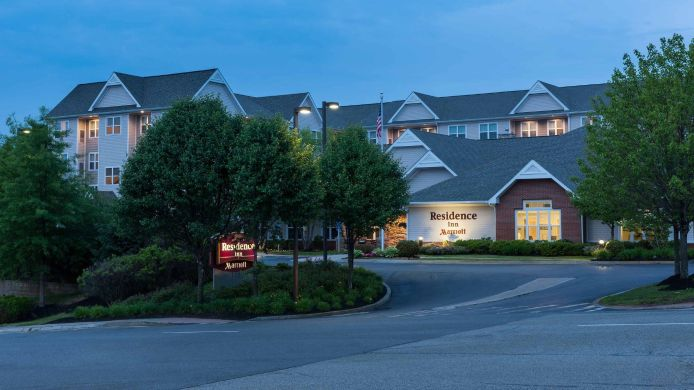Exterior view Residence Inn Boston Marlborough