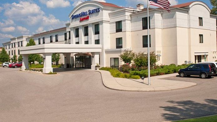 Exterior view SpringHill Suites Grand Rapids Airport Southeast