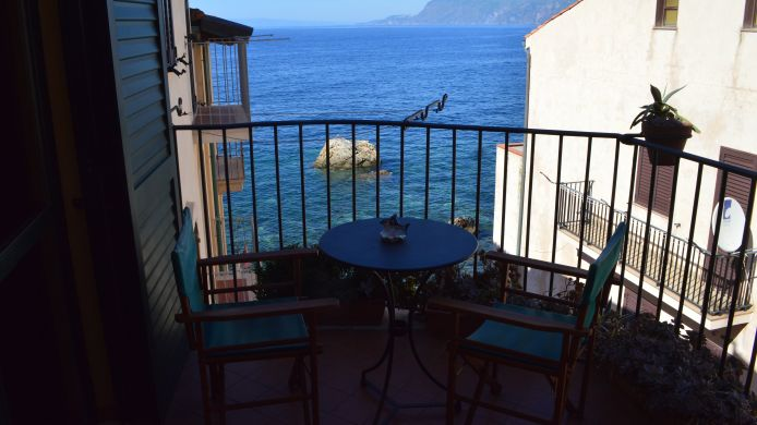 Zimmer mit Terrasse Le Piccole Grotte B & B