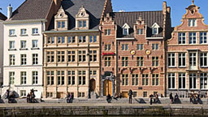 Exterior view Ghent Marriott Hotel