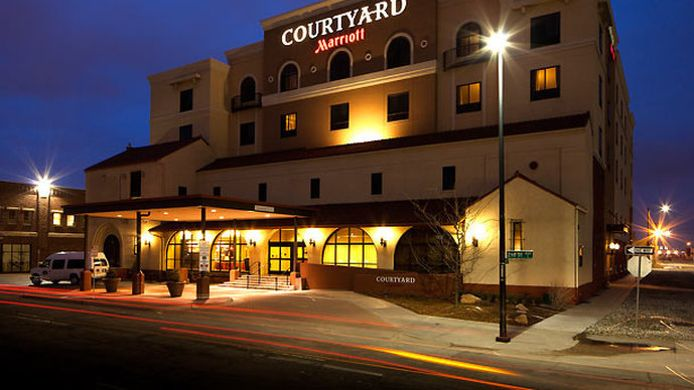 Exterior view Courtyard Wichita at Old Town
