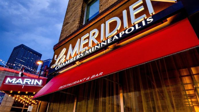 Exterior view Le Meridien Chambers Minneapolis