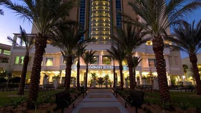 Buitenaanzicht Embassy Suites by Hilton Tampa Downtown Convention Center