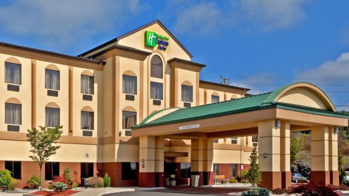 Buitenaanzicht Holiday Inn Express & Suites NEWTON SPARTA