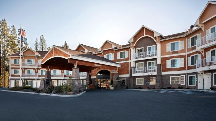 Exterior view Holiday Inn Express & Suites COEUR D ALENE I-90 EXIT 11