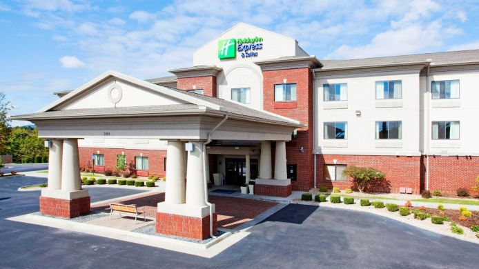 Buitenaanzicht Holiday Inn Express & Suites ROCKY MOUNT/SMITH MTN LAKE