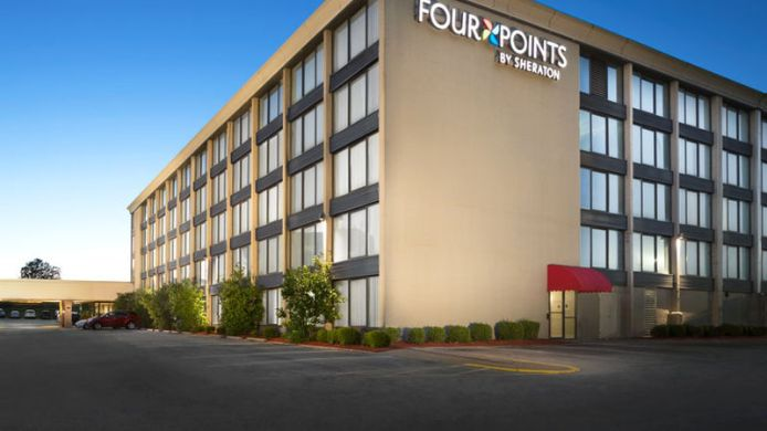 Exterior view Four Points by Sheraton Kansas City Airport