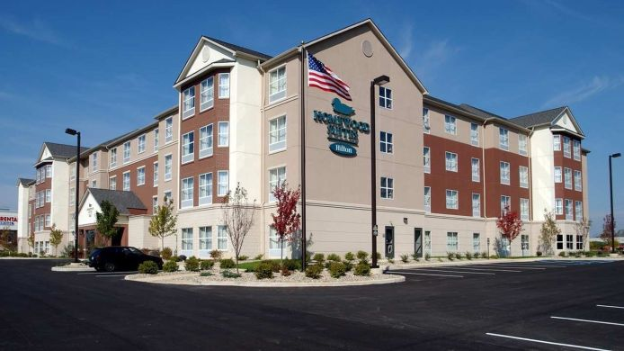 Exterior view Homewood Suites by Hilton Bloomington
