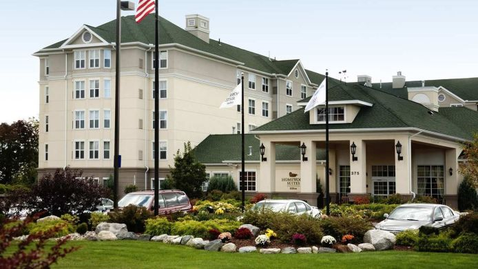 Exterior view Homewood Suites by Hilton Holyoke-Springfield-North