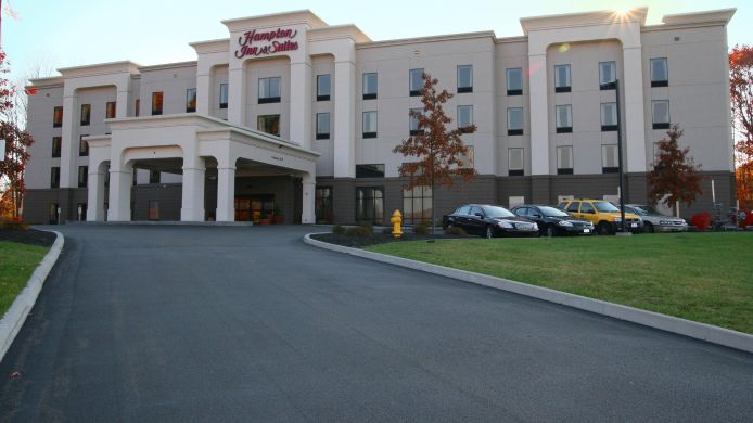 Buitenaanzicht Hampton Inn and Suites Jamestown