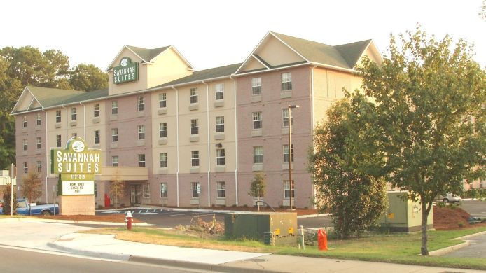 Exterior view SAVANNAH SUITES NEWPORT NEWS