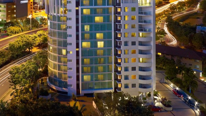 Exterior view THE POINT BRISBANE