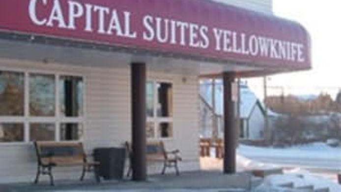 Exterior view Capital Suites Yellowknife