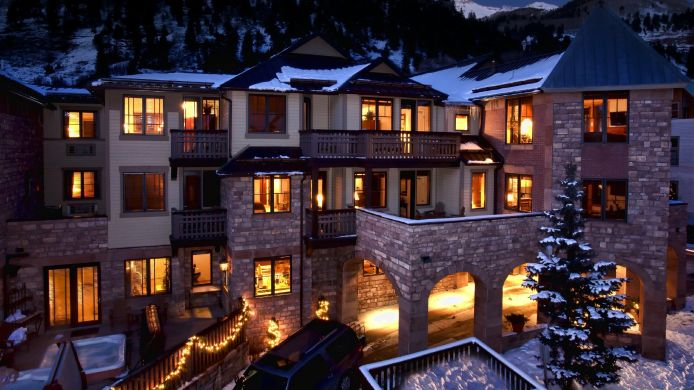 Exterior view The Hotel Telluride