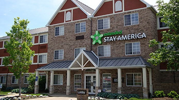 Exterior view EXTENDED STAY AMERICA W 86TH S