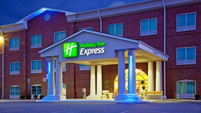 Exterior view Holiday Inn Express CAMPBELLSVILLE