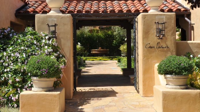 Exterior view CASA PALMERO AT PEBBLE BEACH