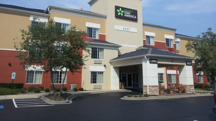 Exterior view EXTENDED STAY AMERICA E NAPERV