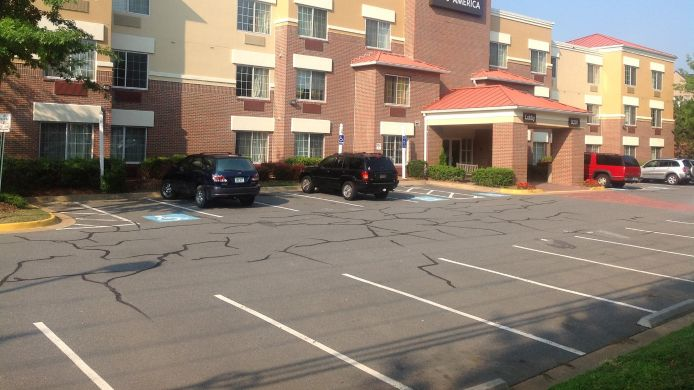 Exterior view EXTENDED STAY AMERICA TYSONS C