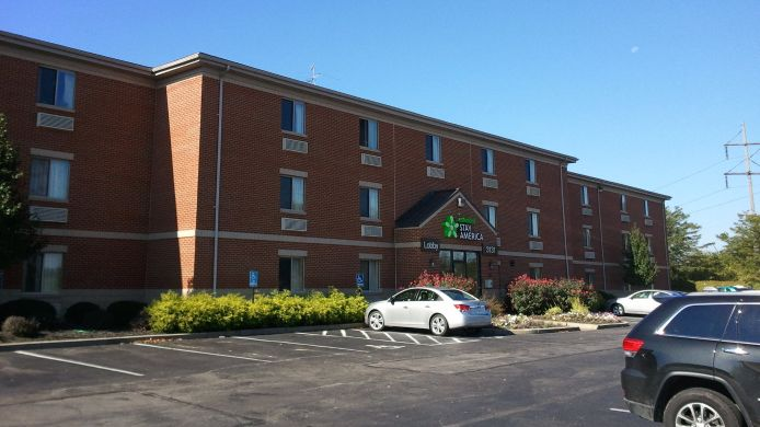 Exterior view EXTENDED STAY AMERICA FAIRBORN