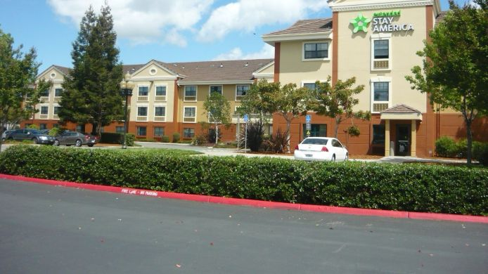 Exterior view EXTENDED STAY AMERICA PLEASANT