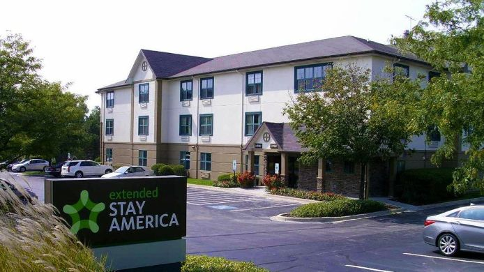 Buitenaanzicht EXTENDED STAY AMERICA DOWNERS