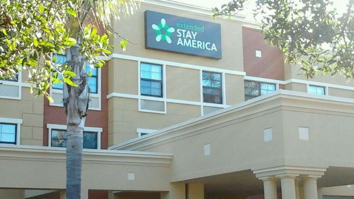 Buitenaanzicht EXTENDED STAY AMERICA AIRPORT