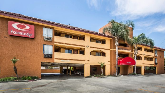 Exterior view Econo Lodge Pico Rivera