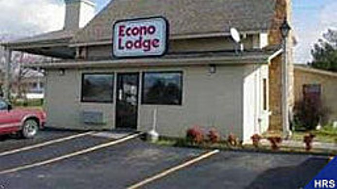 Exterior view Econo Lodge Athens