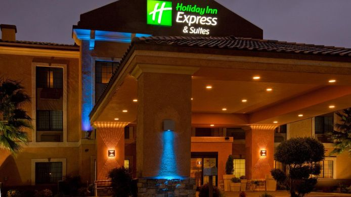 Buitenaanzicht Holiday Inn Express & Suites HESPERIA