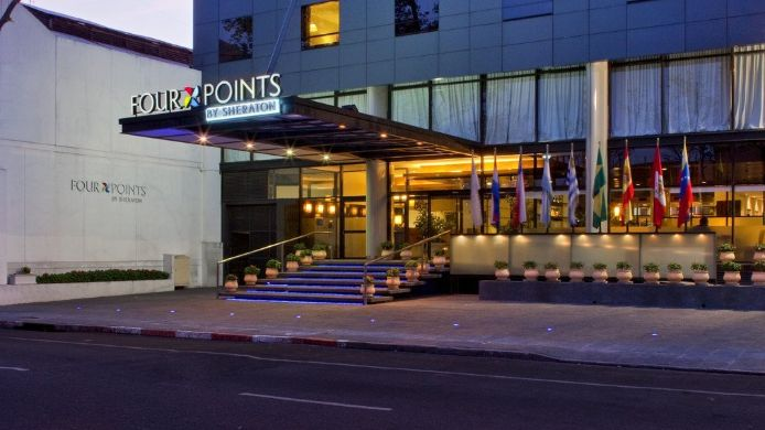 Buitenaanzicht Four Points by Sheraton Montevideo