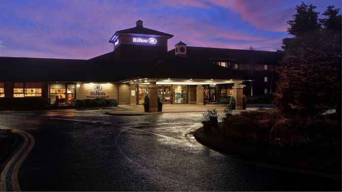 Exterior view Hilton Edinburgh Airport