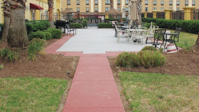 Exterior view LA QUINTA INN STE TOMBALL