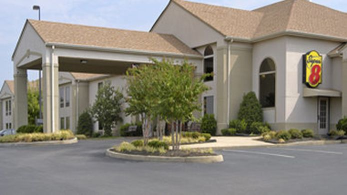 Exterior view SUPER 8 OLIVE BRANCH