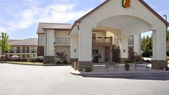 Exterior view SUPER 8 MOTEL - LAVONIA