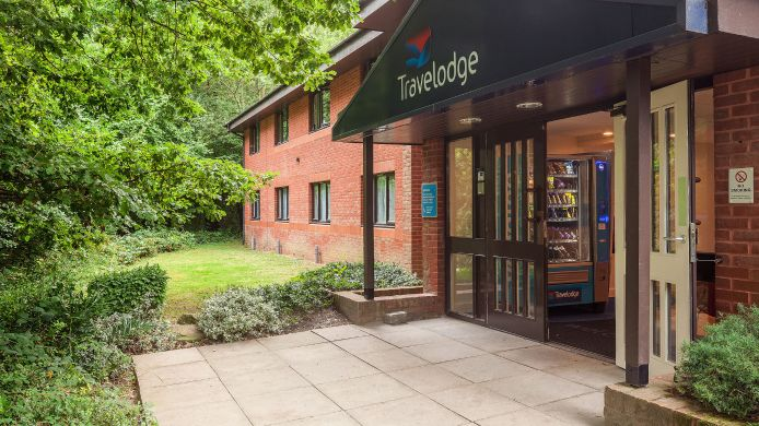 Buitenaanzicht TRAVELODGE CANTERBURY DUNKIRK