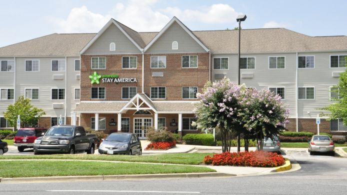 Exterior view EXTENDED STAY AMERICA ADMIRAL