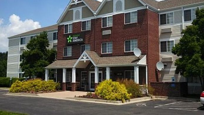 Exterior view EXTENDED STAY AMERICA REED HAR