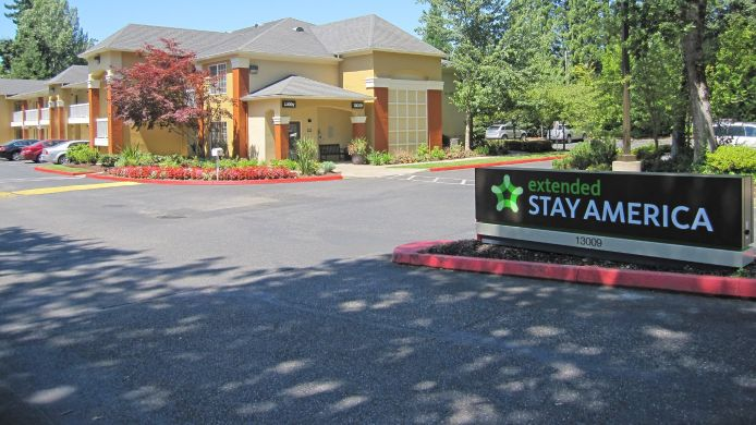Exterior view EXTENDED STAY AMERICA TIGARD