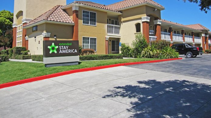 Exterior view EXTENDED STAY AMERICA MILPITAS