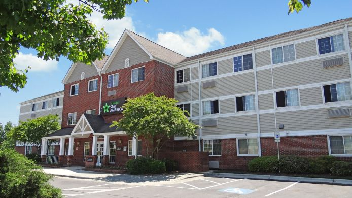 Exterior view EXTENDED STAY AMERICA NE RALEI