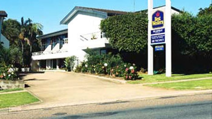 Buitenaanzicht BEST WESTERN SEA SPRAY MOTEL