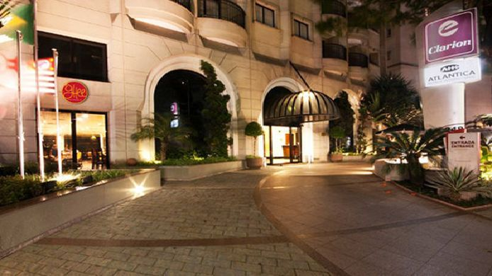 Exterior view Clarion Hotel Faria Lima