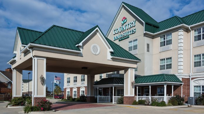 Exterior view COUNTRY INN SUITES EFFINGHAM