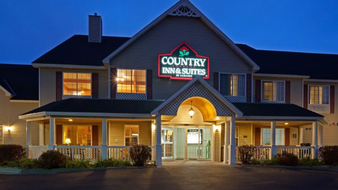 Exterior view COUNTRY INN SUITE LITTLE FALLS